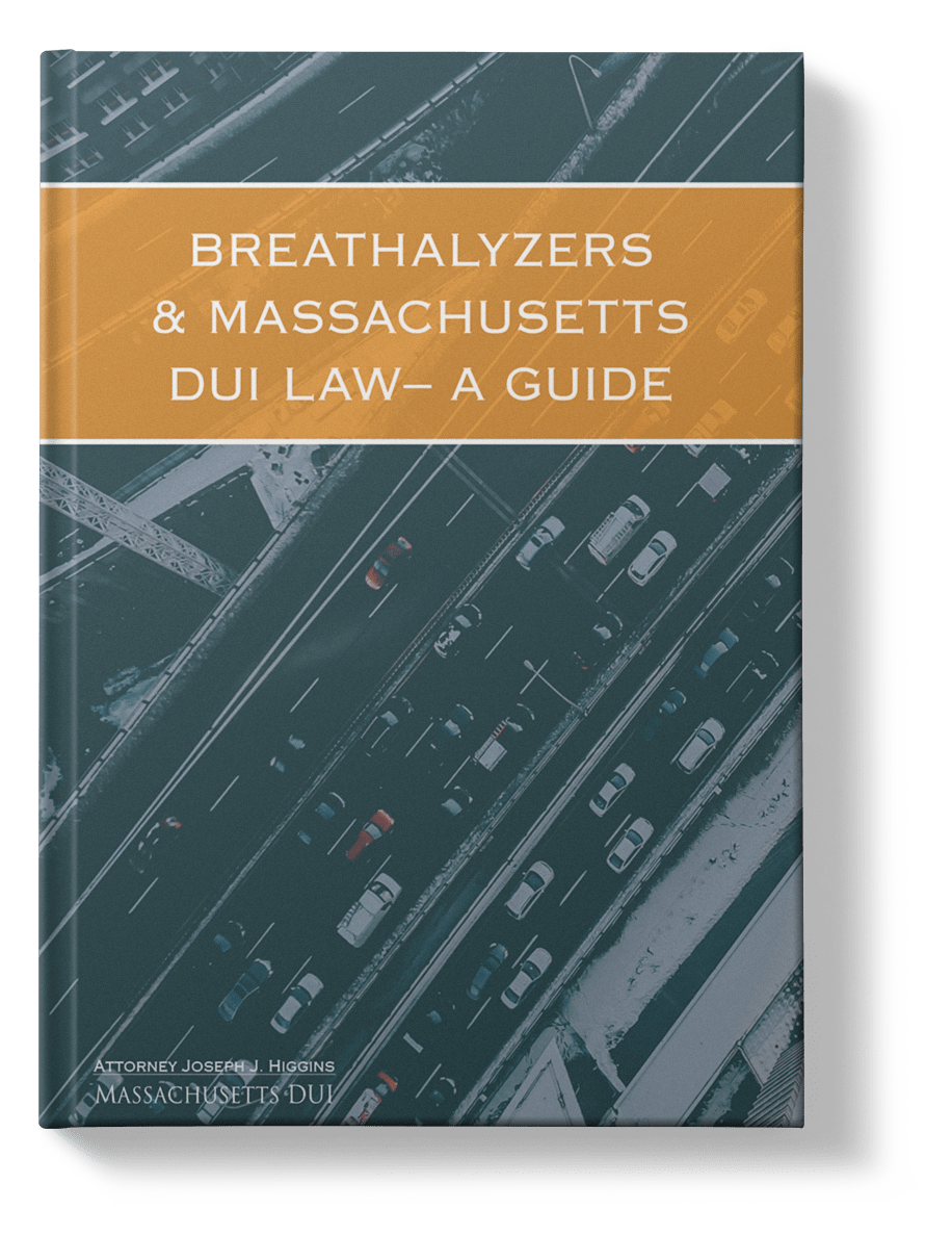 Breathalyzers and Massachusetts DUI Law ebook cover