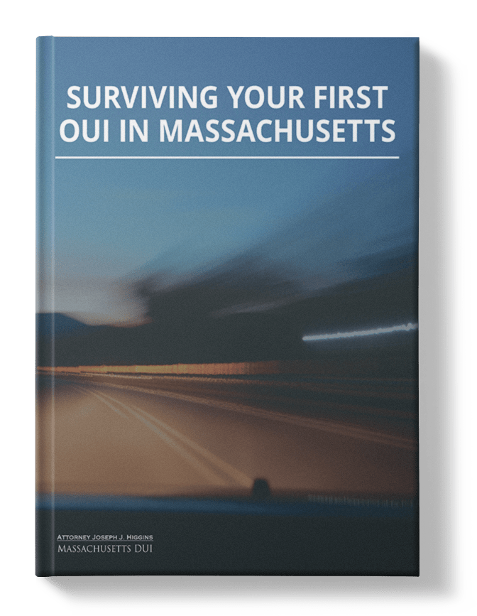 Surviving Your First OUI In Massachusetts ebook cover