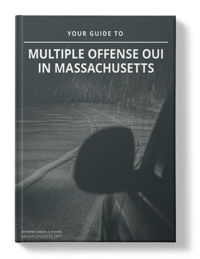 Your Guide To Multiple Offense OUI ebook cover